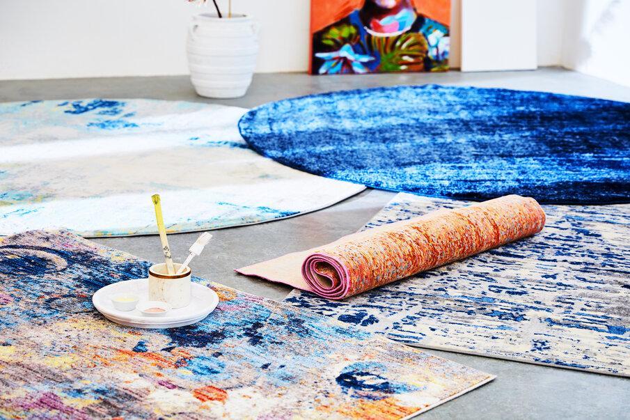 tapis multicolore 01