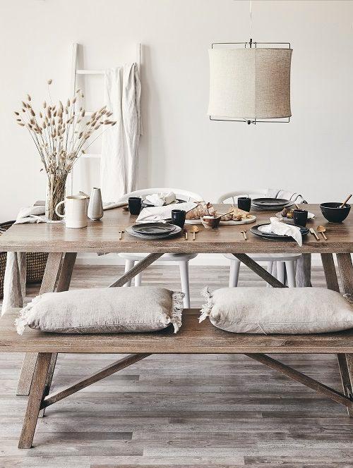 Tables à manger en bois massif
