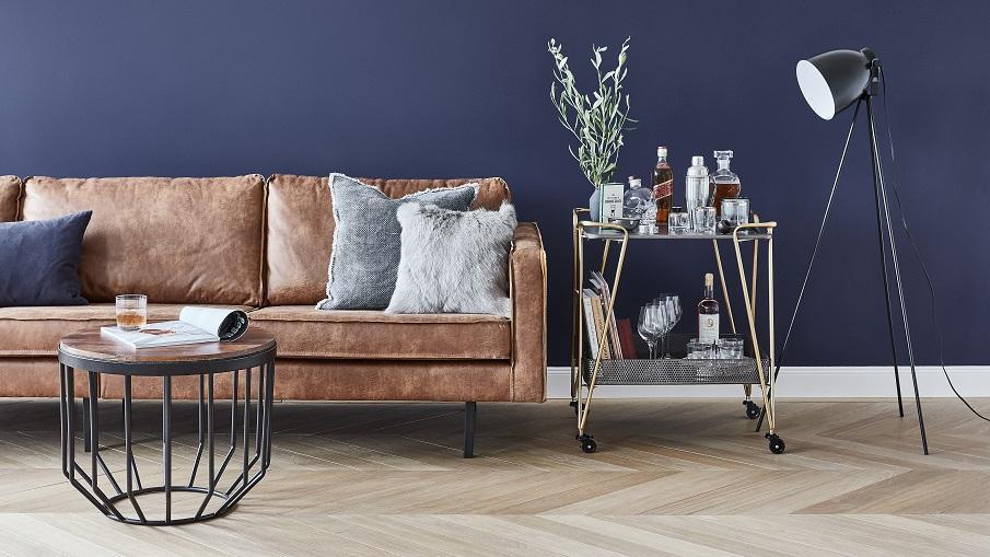 canapé design en cuir