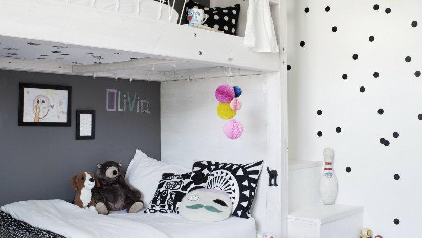 letti a castello per bambini cuscini cameretta