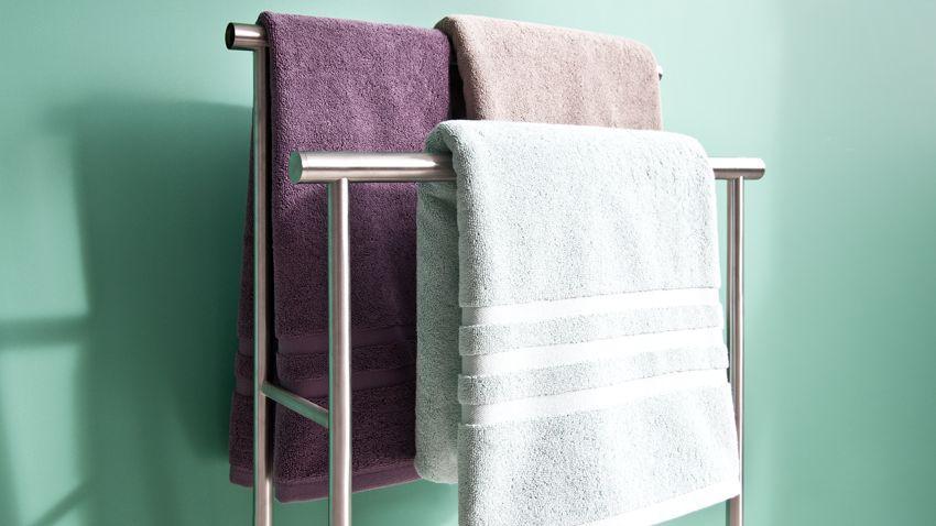 Piantana porta asciugamani