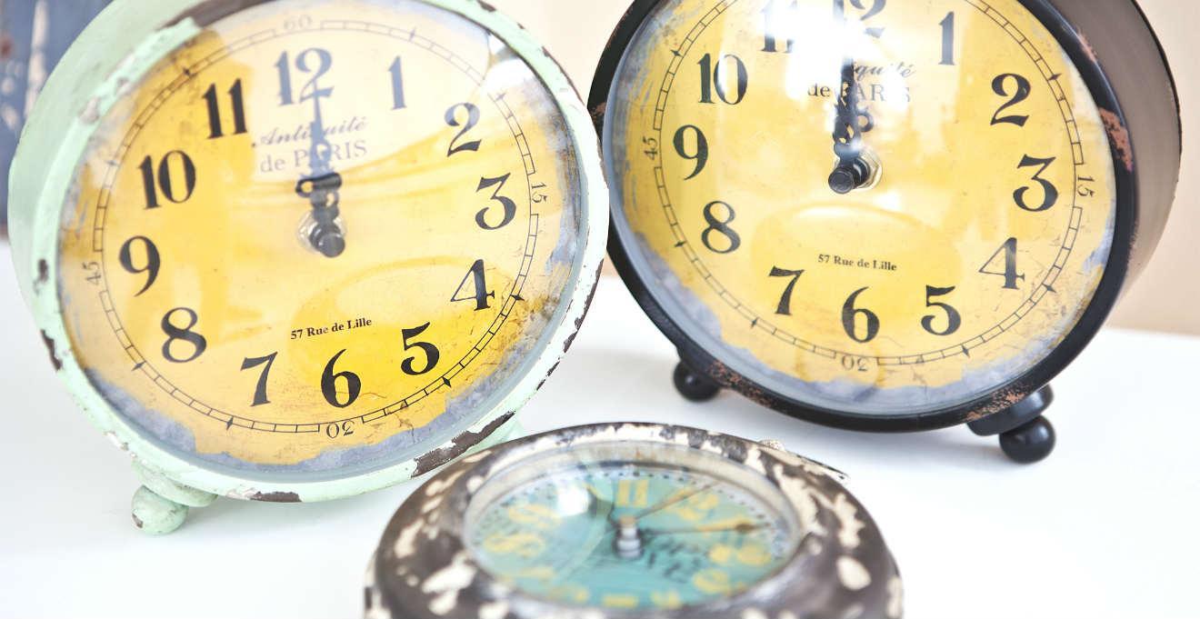 Orologi antichi da tavolo