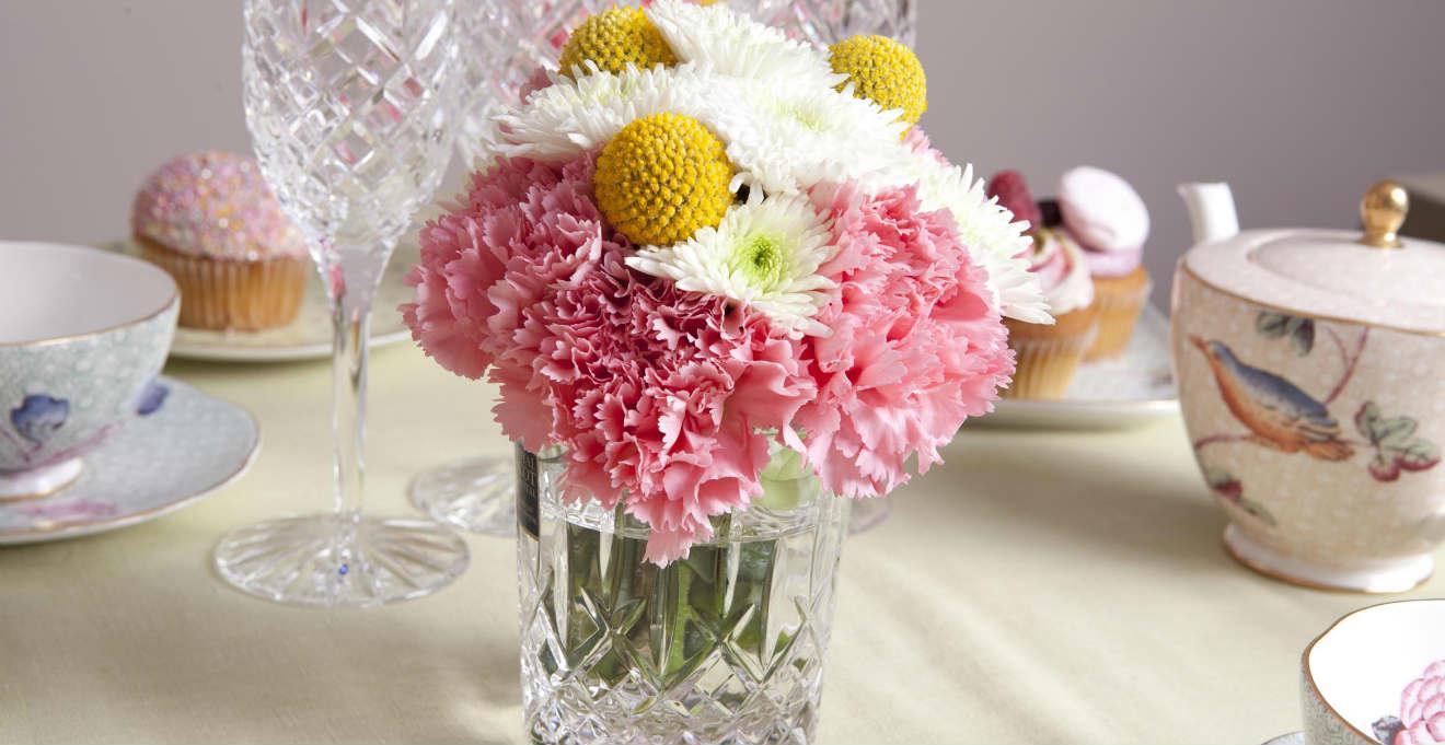 Centrotavola con fiori