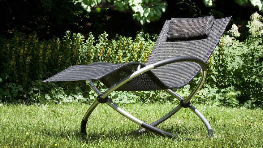 Sedie da esterno in alluminio