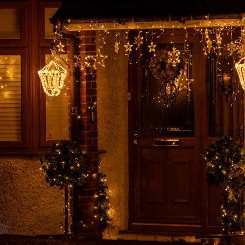 Addobbi natalizi per esterno