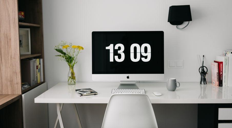 scrivania ergonomica