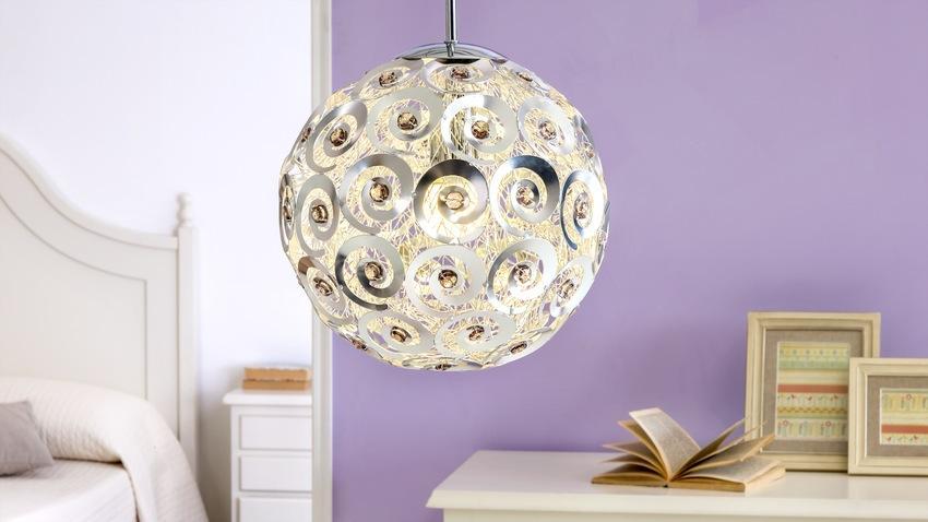 bolvormige design hanglamp