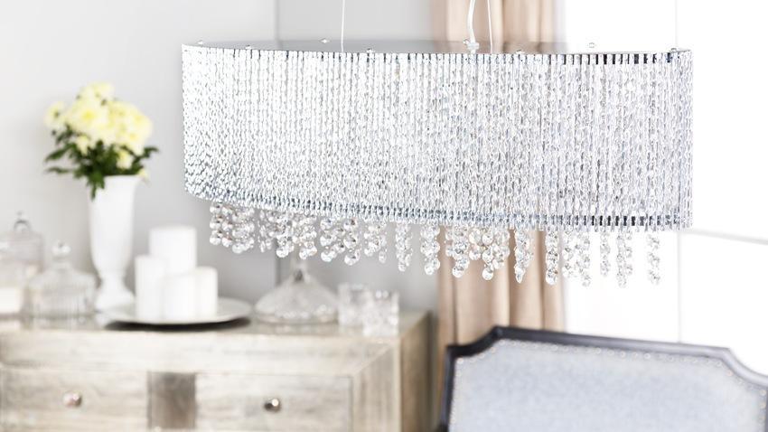 moderne kristallen hanglamp
