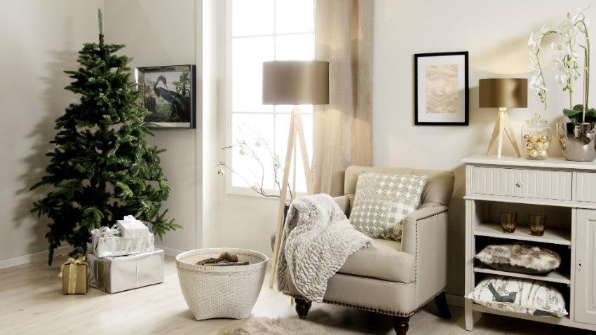 Kerstboom in pot
