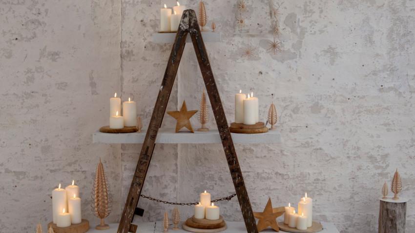 Metalen kerstboom