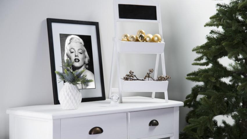 Zwarte kerstboom