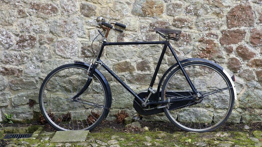 Afneembare fietstas