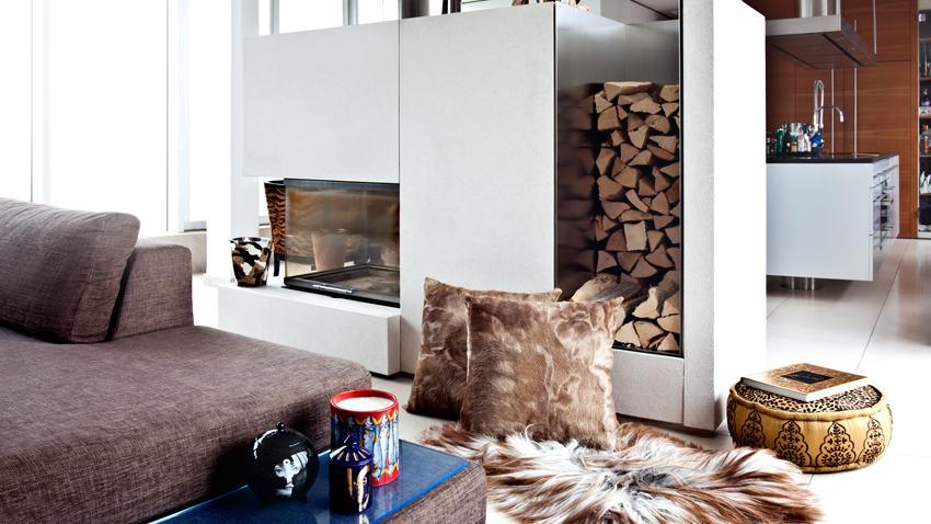 Moderne houtkachel