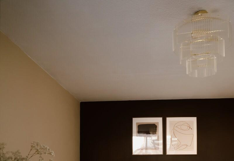 plafondlamp goud