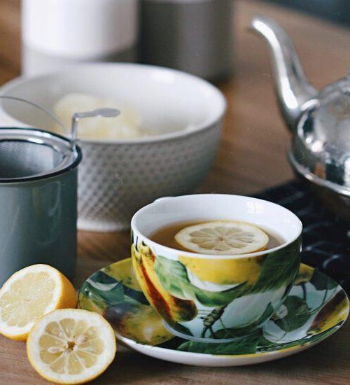Zilveren theeserviezen