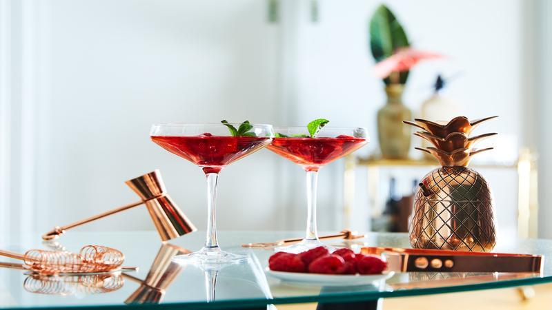Martini glazen
