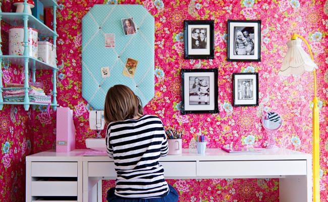 Pokój dziecięcy na różowo