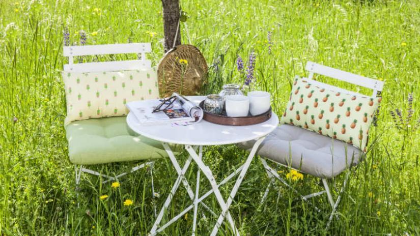 poduszki na krzesła ogrodowe