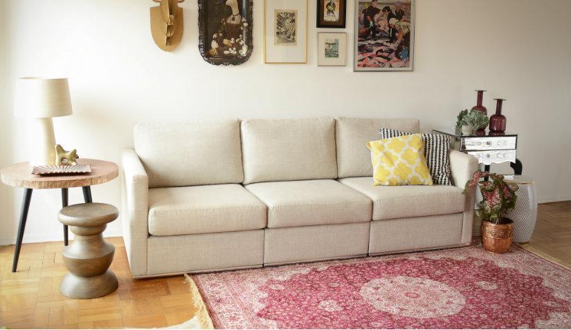 Orientalny różowy dywan
