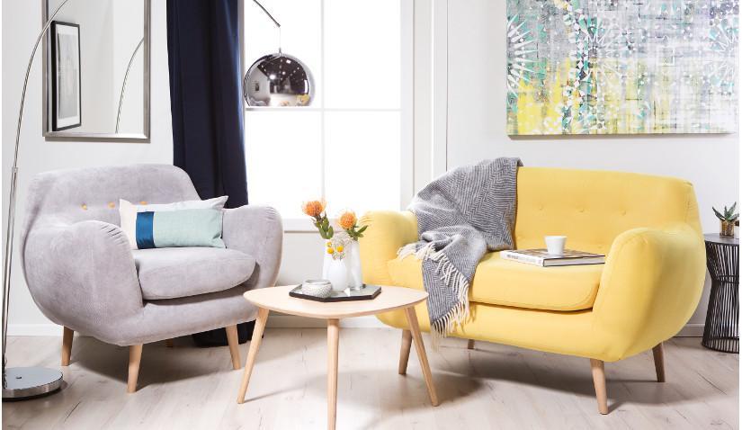 Wygodna kanapa w nowoczesnym stylu