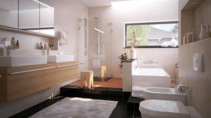 nowoczesne łazienki aranżacje