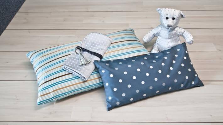pokój dla chłopca poduszki