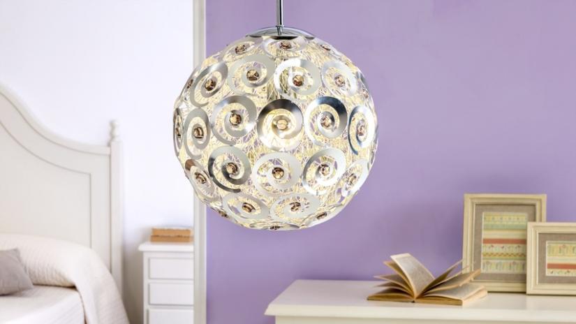 lampy wiszące glamour
