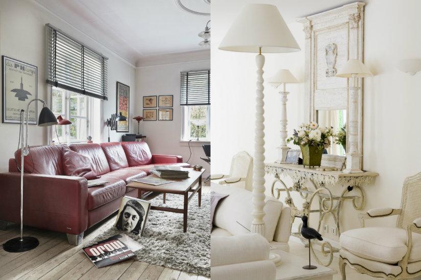 Efektowne lampy stojące do salonu