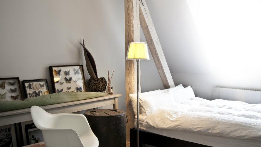 mała sypialnia aranżacje