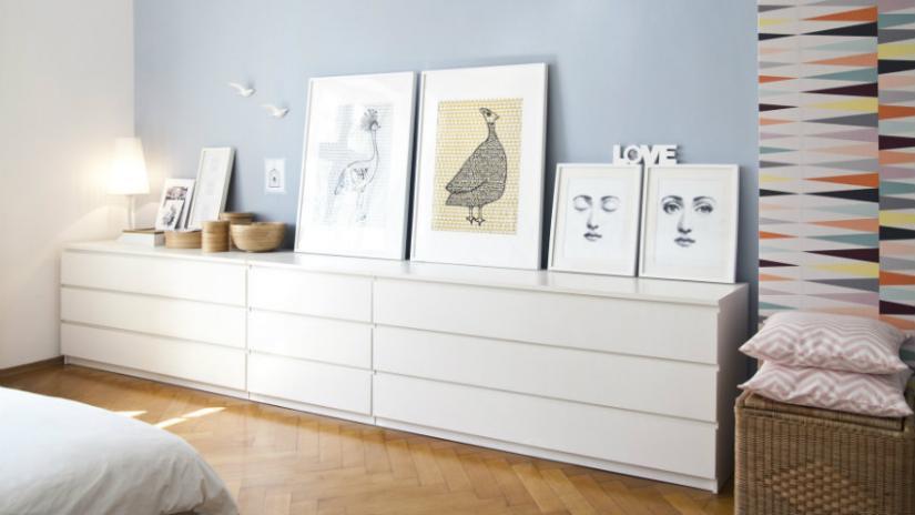 komody w stylu skandynawskim z szufladami