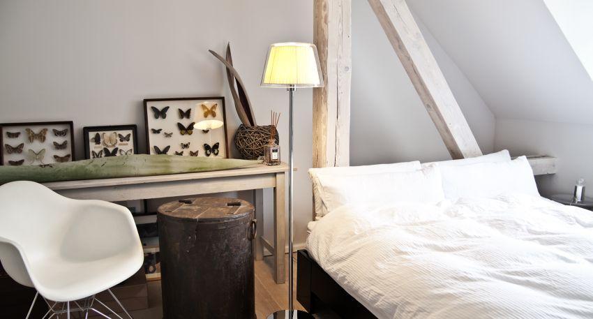 łóźko na antresoli