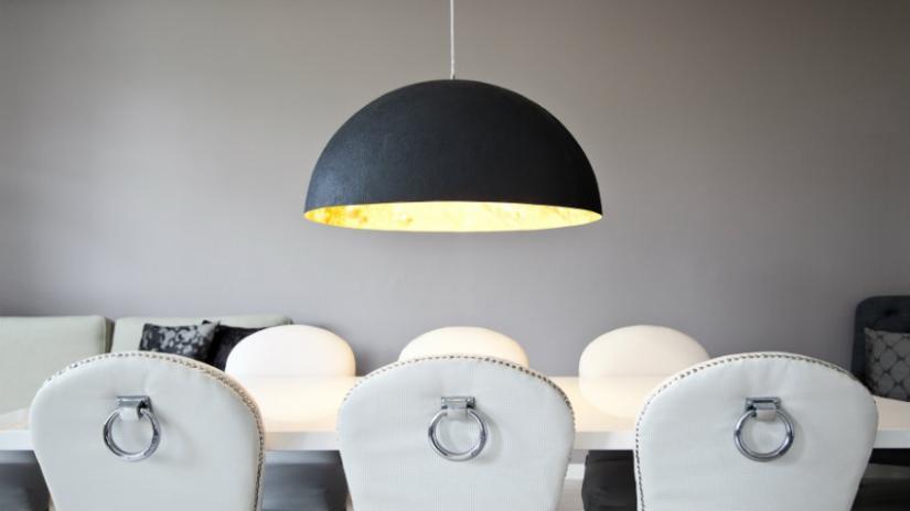 lampa nad stół czarna