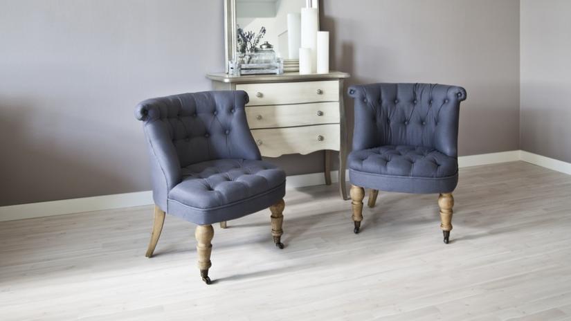 krzesła glamour do salonu