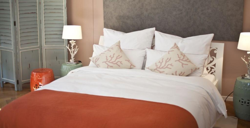 sypialnia czerwona