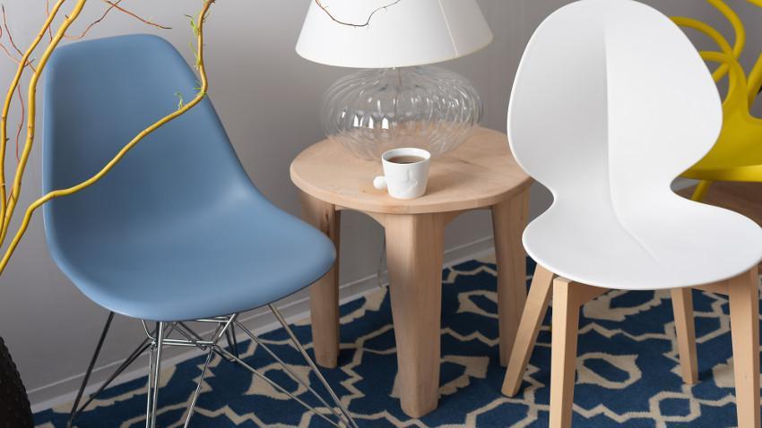 krzesła kuchenne nowoczesne białe
