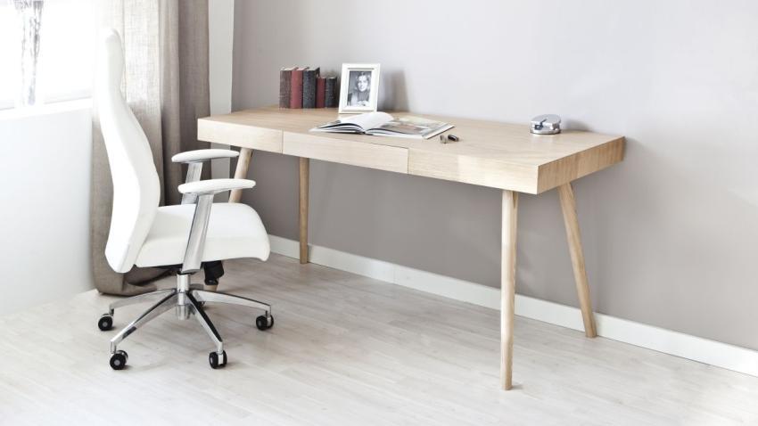 Krzesło obrotowe drewniane