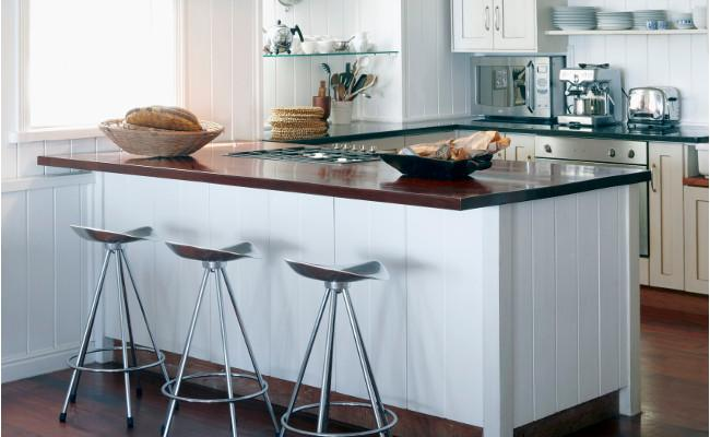 minimalistyczna kuchnia w stylu eko