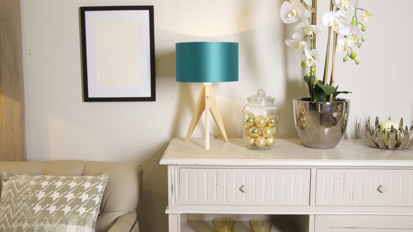 lampy turkusowe