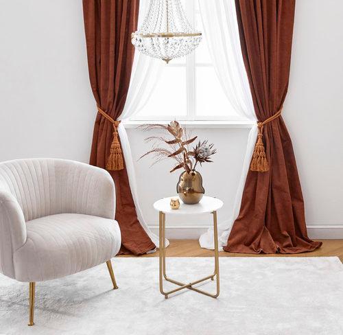 Fotele glamour