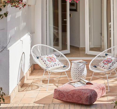 Krzesła na taras
