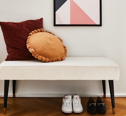 Szafki na buty z siedziskiem