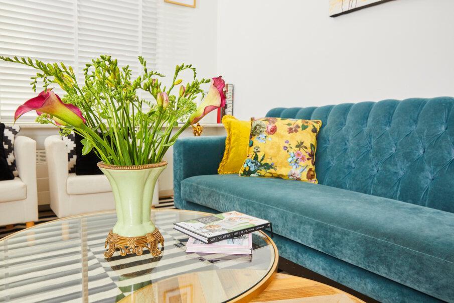 zielony wazon