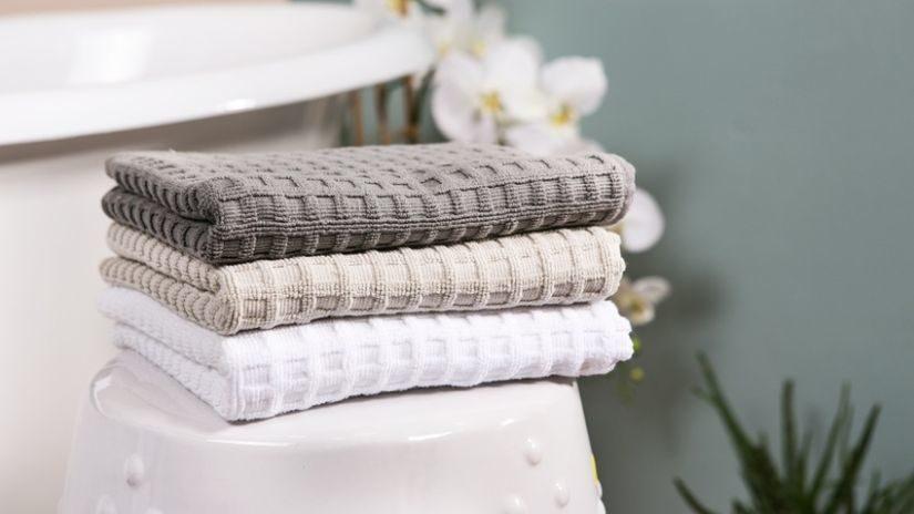 Jemné vrúbkované uteráky