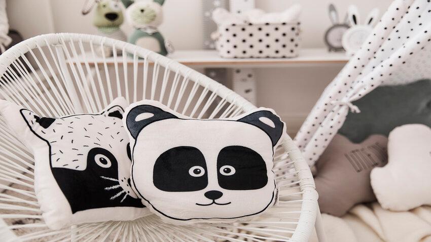 Detské vankúše s motívom pandy