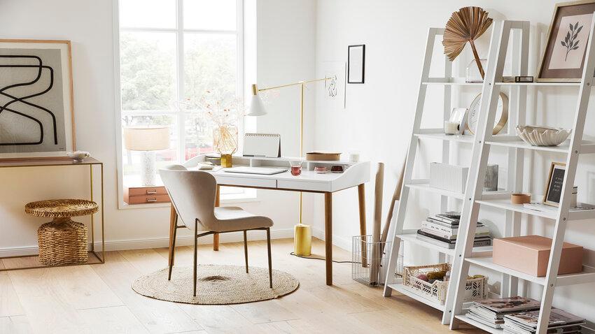 Biely písací stôl