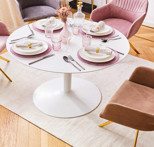 Okrúhle jedálenské stoly