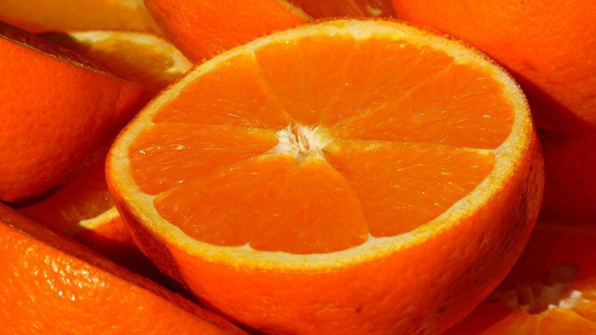 Frigorifero arancione