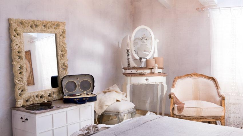 Camera da letto in stile veneziano