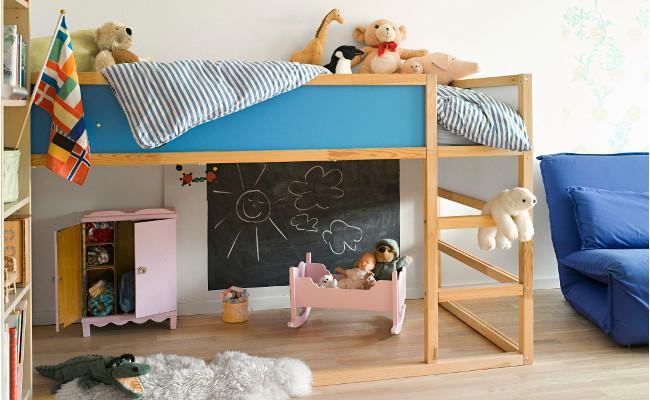 Pokój dziecięcy z łóżkiem piętrowym