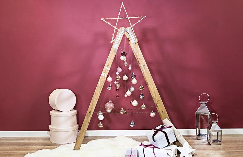 Be modern: kreative Weihnachtsbaum-Alternativen